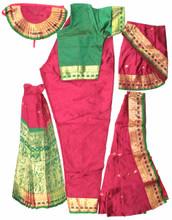 Bharathanatyam dance costumes