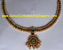 Temple jewelry necklace choker