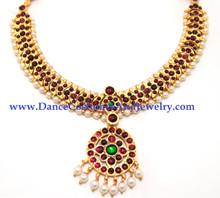 temple jewellery dance choker