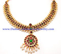 temple jewellery dance choker