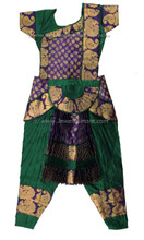 Bharatanatyam costume