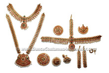Bharatanatyam dance jewelry