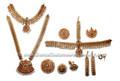 Bharatanatyam dance jewelry