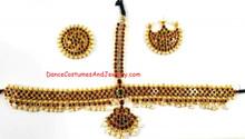 Imitation Temple jewelry Head set