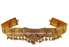 Mohiniyattam dance jewelry - An Indian temple jewellery ornament for dance
