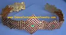 Bharatanatyam jewelry belt