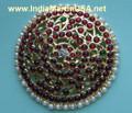 Rakodi Imitation Bharatanatyam Jewelry with artificial pearls