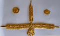 Golden headset for Mohiniyattam