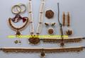 Bharatanatyam Temple Jewelry Dance Set FXL82