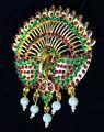 Temple Jewelry Peacock design Rakodi
