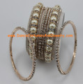 Fashion jewelry costume bangles CR932WHT