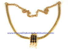 poothaali necklace temple jewelry