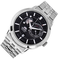 Orient Sun Moon Phases Automatic Analog Mens Watch FET0P002B ET0P002B