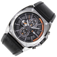 Police WR100m Quartz Analog Leather Mens Casual Watch PL12416JSU/02