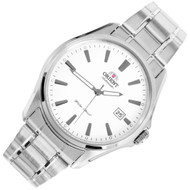 Orient Classic White Dial Automatic Stainless Mens Watch ER2D005W