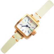 Milton Stelle Quartz Multi Color Marker Analog Ladies Watch MS-090R
