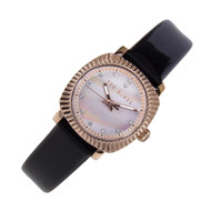 Ted Baker Wanoa Pearl Dial Quartz Womens Black Dress Watch TE2120