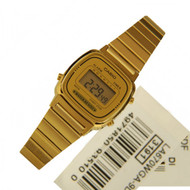 LA670WGA-9DF Casio Ladies Quartz Dress Watch LA-670WGA