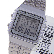 Casio Quartz Digital Stainless Watch A500WA-7DF A500WA-7