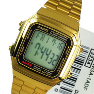 Casio Quartz A178WGA-1ADF A178WGA-1A Alarm Dress Watch