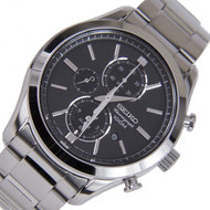 SEIKO QUARTZ CHRONOGRAPH WATCH SNAF67P