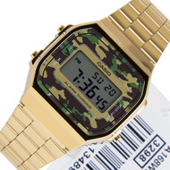 A168WEGC-3D A168WEGC-3DF Casio Retro Gents Watch