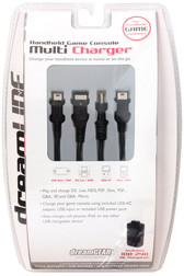 dreamGEAR Universal Multi Charger For DS Lite, NDS, PSP Slim, PSP, GBA SP & GBA Micro - DGUN-171