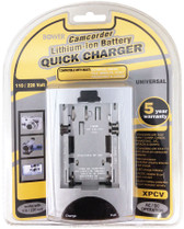 Bower Universal Camcorder Lithium-ion Battery Quick Charger - XPCV