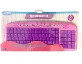 Cyber Gear Pink Daisy USB Compact Keyboard - 90897-WAL