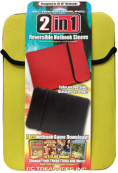 "10"" Reversible Netbook Sleeve - Green/Black - 07011-PG"