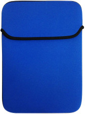 "10"" Reversible Netbook Sleeve - Blue/Black - 07014-PG"
