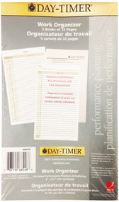 "Day Timer 5-PK 5"" X 8 1/2"" 32-Page Work Organizer Book - 6719968548"