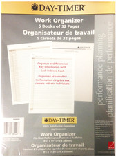 "Day Timer 5-PK 8 1/4"" X 11"" 32-Page Work Organizer Book - 6719968549"