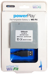ezGear PowerPlay Rechargeable Battery For Wii Fit - WF141