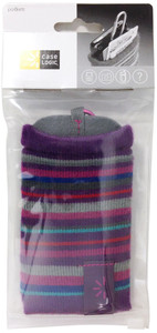 Case Logic Knit-Pocket 2-Sided iPhone/Mobile Carrying Case - Purple - UKP2 PURPLE