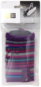 Case Logic Knit-Pocket 2-Sided iPhone/Mobile Carrying Case - Purple - UKP2 PURPLE