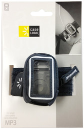 Case Logic Suede Armband For Small MP3 Players - Gray - UMA101 GRAY