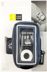 Case Logic Suede Armband For Medium MP3 Players - Gray - UMA102 GRAY