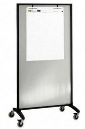 Quartet - 6630T 36'' X 72'' Motion Series Translucent Room Divider Partition - 3413802872/6630T