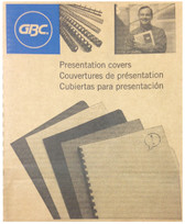 GBC - Grain 200-Pack Economy Presentation Covers - Blue - 3381600173