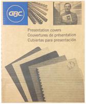 GBC - Grain 200-Pack Economy Presentation Covers - Blue - 3381600173
