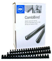 GBC - 100PK 3/4'' Premium Binding Combs - Matte Textured - 3381605729