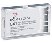 iMation 541 30-Minute Mini Dictation Cassette - 74050055669
