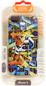 Cygnett ICON Series Tats Cru - Street Art iPhone 5 Case - CY0982CPICO