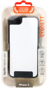 Cygnett Apollo iPhone 5 Case - Snow White/Grey - CY0865CPAPO