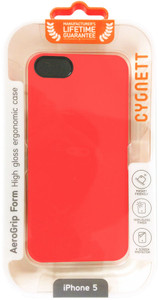 Cygnett AeroGrip Ergonomic iPhone 5 Case - Tangerine - CY0834CPAEG