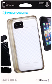 Marware Revolution Case For iPhone 5 - White Sea - ADRE1012