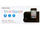 Memorex Ultra Portable Travel Speaker - Black - MA3122