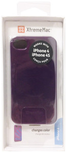 XtremeMac TuffWrap Shift Colour Changing Case For iPhone 4/4s - Purple - IPP-MO5-43