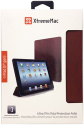 XtremeMac MicroFolio Ultra-Thin Total Protection Folio For iPad Air - Distressed Saddle - IPD-MFL5-63